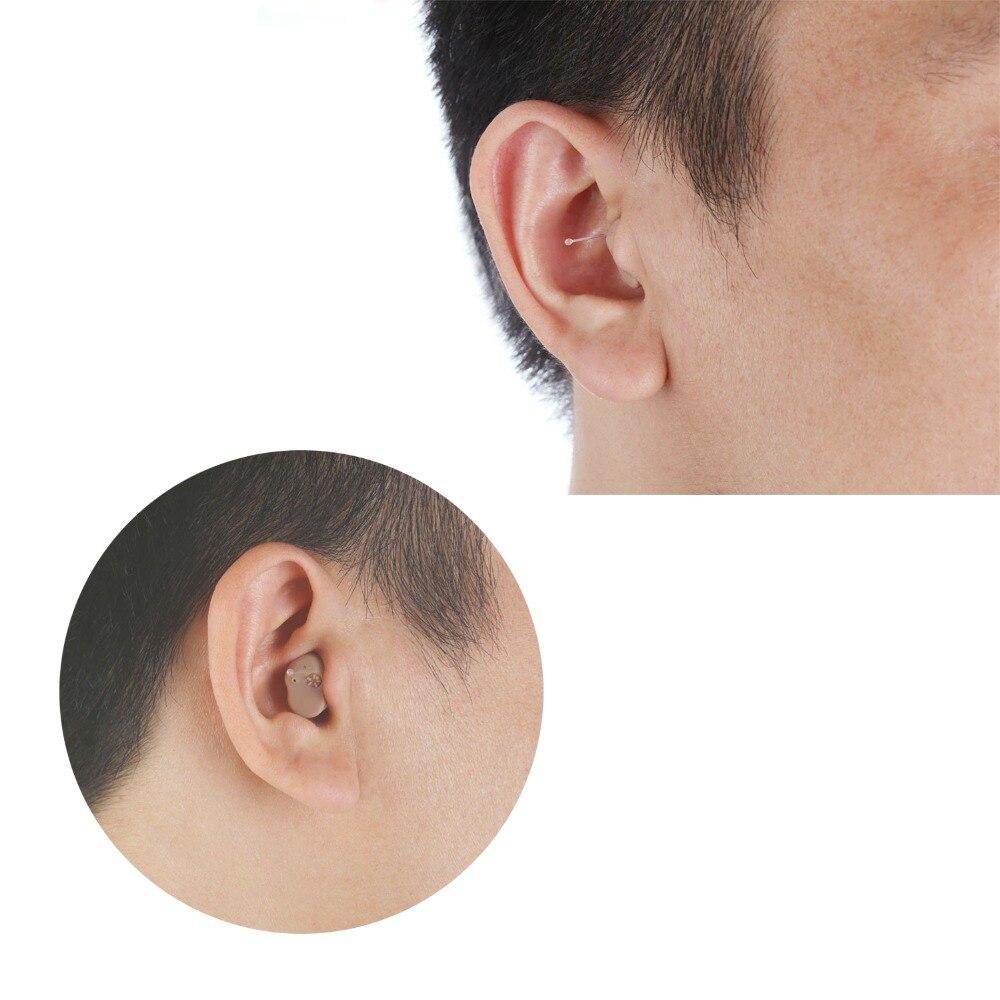 2PCS osynligt litet hörselhjälpmedel i hörselhjälpmedel för - Sjukvård - Foto 4