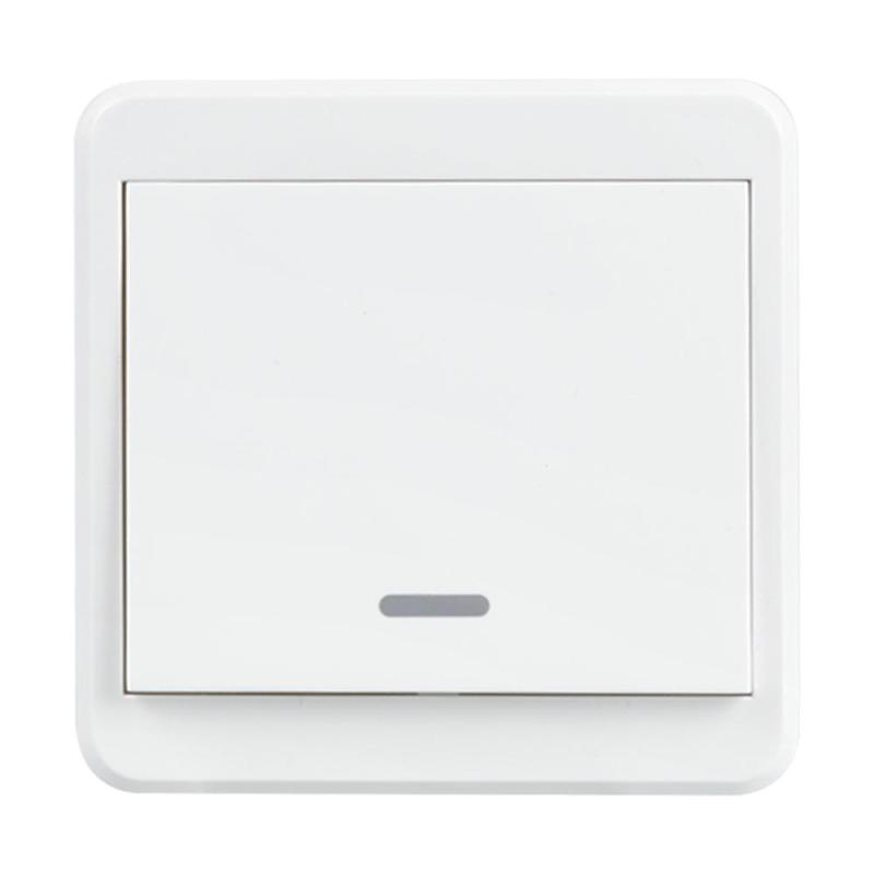 UK Plug WiFi Smart Switch 1 Gang Light Wall Switch Panel APP Remote Control Work with Amazon Alexa Google Home Timing Schedules smart home uk standard crystal glass panel wireless remote control 1 gang 1 way wall touch switch screen light switch ac 220v