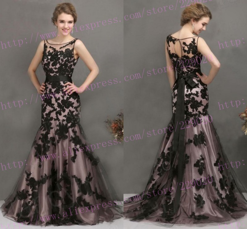 Aliexpress.com : Buy Top Seller Cheap! 2015 Black Lace Prom ...