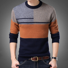 2017 new O-neck sweater men, men's fashion knitwear Men Pullovers Sweater Jumpers Men Casual Sweater Hot Sale