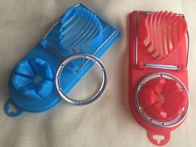 Gran oferta de cocina herramientas 2in1 corte multifunción rebanador de cocina para huevos Sectione molde flor bordes Gadgets Herramientas herramientas