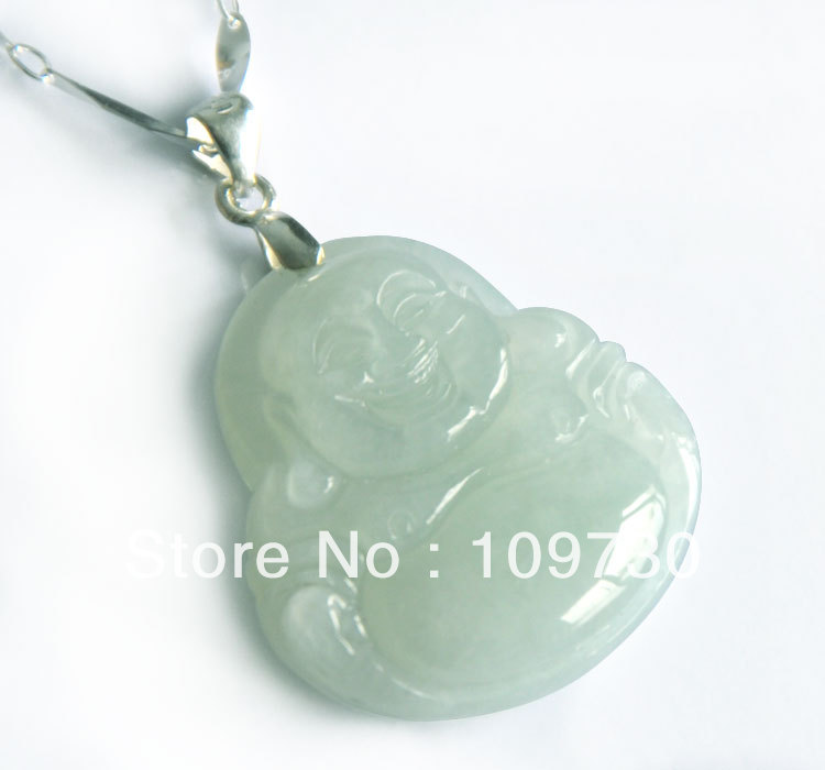 Natural green pendant myanmar laughing buddha equitable security natural green pendant myanmar laughing buddha equitable security jade pendant genuine special hd 004 in pendants from jewelry accessories on aloadofball Images