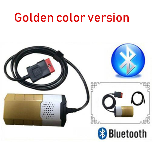 Gold Color For Delphis Autocome Vd Ds150e Cdp 2017 3 Keygen Bluetooth Work On Cars Trucks