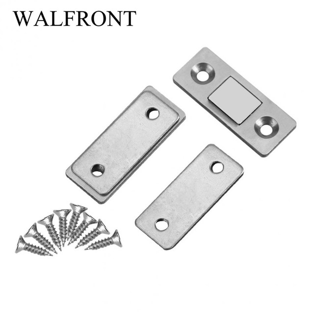 Strong Door Closer Magnetic Door Catch Latch Door Magnet for Furniture Cabinet Cupboard with Screws Hot  sc 1 st  AliExpress.com & Strong Door Closer Magnetic Door Catch Latch Door Magnet for ...
