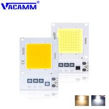 Vacamm светодиодный COB Точечный светильник s Smart IC Фактическая мощность Высокая люменов чип лампа 10 Вт 20 Вт 30 Вт для помещений DIY светодиодный прожектор светильник