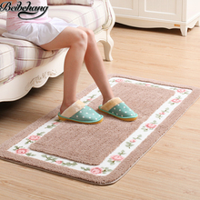 beibehang高級アクリルカーペット牧歌的なリビングルームマット寝室のコーヒーテーブルカーペット入り口アンチマットマットベッド毛布