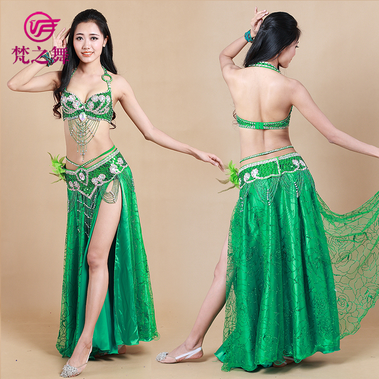d6e981313 Professional 3pcs belly dance costume tribal dance clothes Egyptian style  dance skirt egyptian belly dance clothing GT 1039#-in Belly Dancing from  Novelty ...