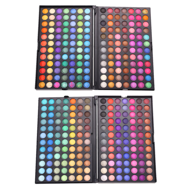 Новый 168 Цветов Набор Для Макияжа Нейтральный & Shimmer Матовый Косметическая Палитра Теней GUB #