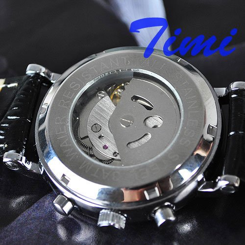ФОТО wholesale  Luxury Lady Women AUTO Multi Function Watch Moon Phase freeship COOL