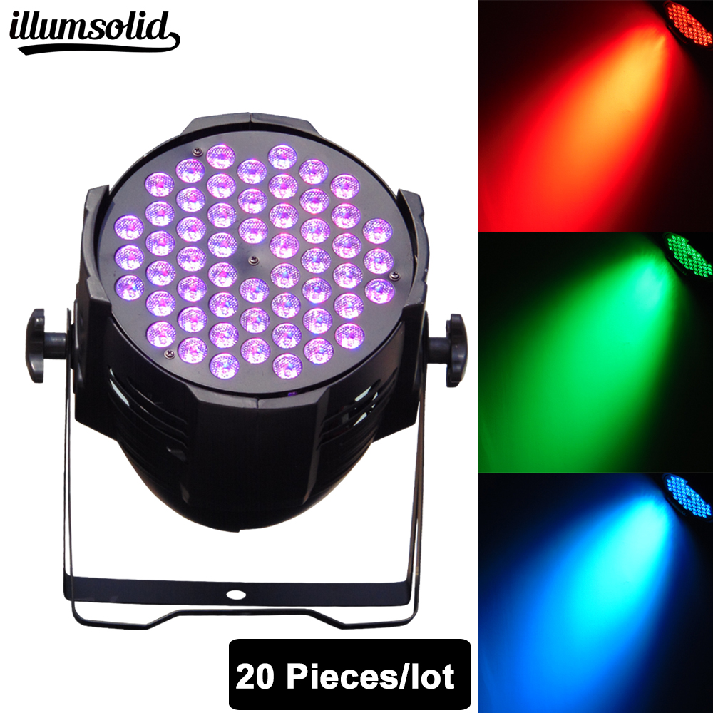 20pcs/lot LED Stage Light Sound Active Automatic Par Light 54 Led RGB Par Disco Lights Wedding Stage Lamp Disco Bar Light20pcs/lot LED Stage Light Sound Active Automatic Par Light 54 Led RGB Par Disco Lights Wedding Stage Lamp Disco Bar Light