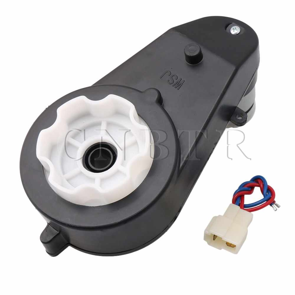 CNBTR 12V 30000RPM Gearbox Motor for Kids Powered Ride on Cars Motorcycles  RS550 Drive Engine Match on Toys