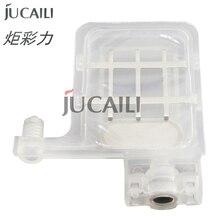 Jucaili 20 pcs DX5/xp600 Transparent big ink damper for EPSON DX4 tx800 xp600 Mutoh Galaxy Allwin Xuli printer ink dumper filter