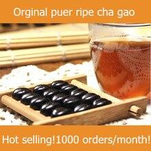 Hot sale! 2010 year premium old tree puer tea cream cooked ripe puerh cha gao 1g/pc menghai orginal health care green food