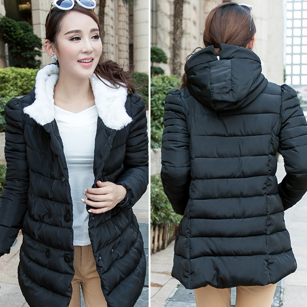 7b6f919f2f101 Maternity Winter Jackets Coats Clothes Plus Size Windbreaker Warm Down Coat  For Pregnant Women Pregnancy Hooded Outwear Clothing-in Coats from Mother    Kids ...