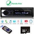 Авторадио 1 din автомобильное радио JSD-520 стерео bluetooth аудио mp3 рекордер usb sd aux вход oto teypleri авто радио Автомобильный плеер