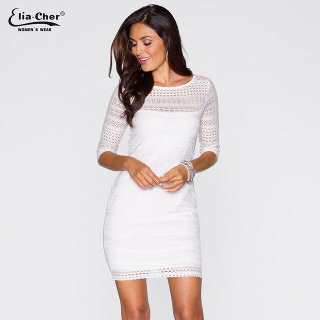 Vestidos blancos cenidos al cuerpo