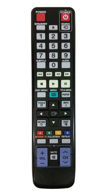 Generic Remote Control for Samsung AV27432 BDC7500XAA BDC6500/MEA  BDC6900/XSE Blu Ray DVD Player-in Remote Controls from Consumer Electronics  on