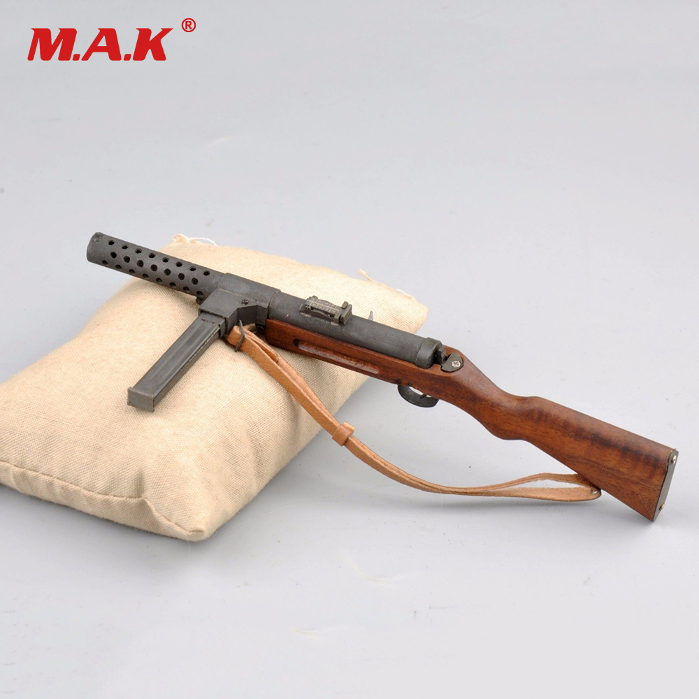 1/6 Scale Gun Model Toys MP28 Submachine Gun Kugelspritz Weapon Toy for 12 Soldier Figure 1 6 scale 4d assembling qsz92 pistol model gun weapon mode kids toys for 12 action figure accessories collectible gifts e