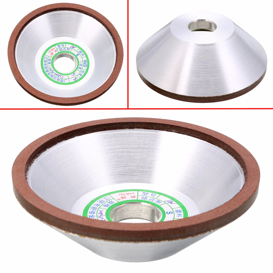 100mm Diamond Grinding Grinder Cup Wheel 180 Grit Cutter for Metal Carbide Tool Cast Iron Grinding Cutting Mayitr diamond angle grinder wheel for glass ceramic grinding dia 100mm and 80mm hole 16mm abrasive pad 120 180 grit m007