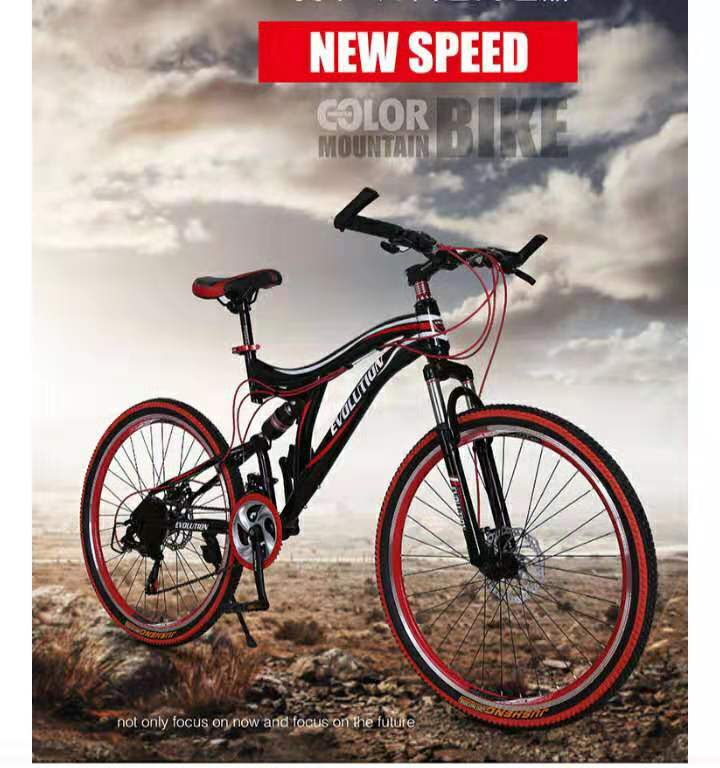 Aluminum Alloy Frame For Mountain Bicycle 21 Speed 24 Inch Wheel Light Bike