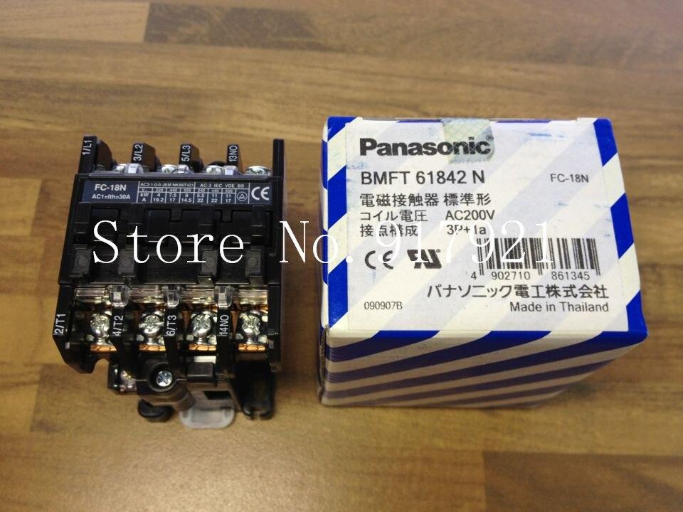 [ZOB] Original FC18N BMFT61842N 200V 3P+1a contactor --2pcs/lot [zob] original fc 10 bmf6 10 41 2 200v genuine original ac contactor 2pcs lot