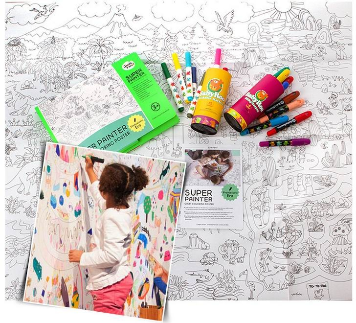 11580 Cm Kids Child Super Painter  Baby Huge Drawing Paper Giant Coloring Poster -2145