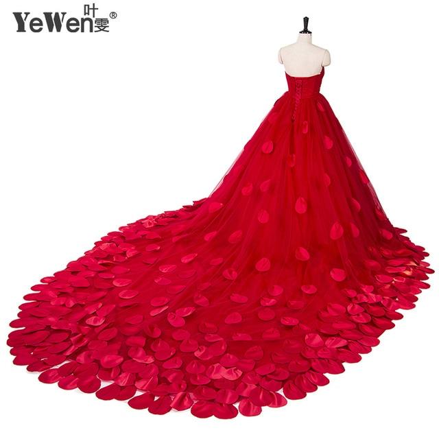 Us 203 15 15 Off New Cheap Beach Red Flowers Boho Wedding Dresses 2018 Sexy Women Girl Wedding Gowns Vestidos De Novia Robe De Mariage Plus Size In