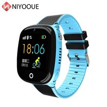 Kids Smart Watch HW11 IP67 Waterproof Smartwatch Android GPS Tracking Security Fence SOS Call Smart Watch With Camera For Baby(China)