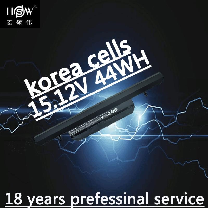 HSW 15.12 v 44Wh WA50BAT-4 batterie d'ordinateur portable pour Clevo 6-87-WA50S-42L 6-87-WA50S 6-87-WA5RS bateria akku