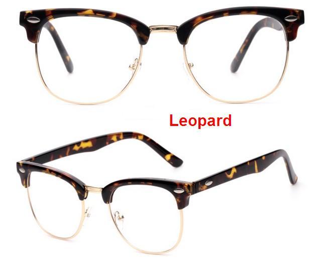 J47 prekės ženklo dizaineris akinių rėmelis pusiau metalinis - Drabužių priedai - Nuotrauka 5