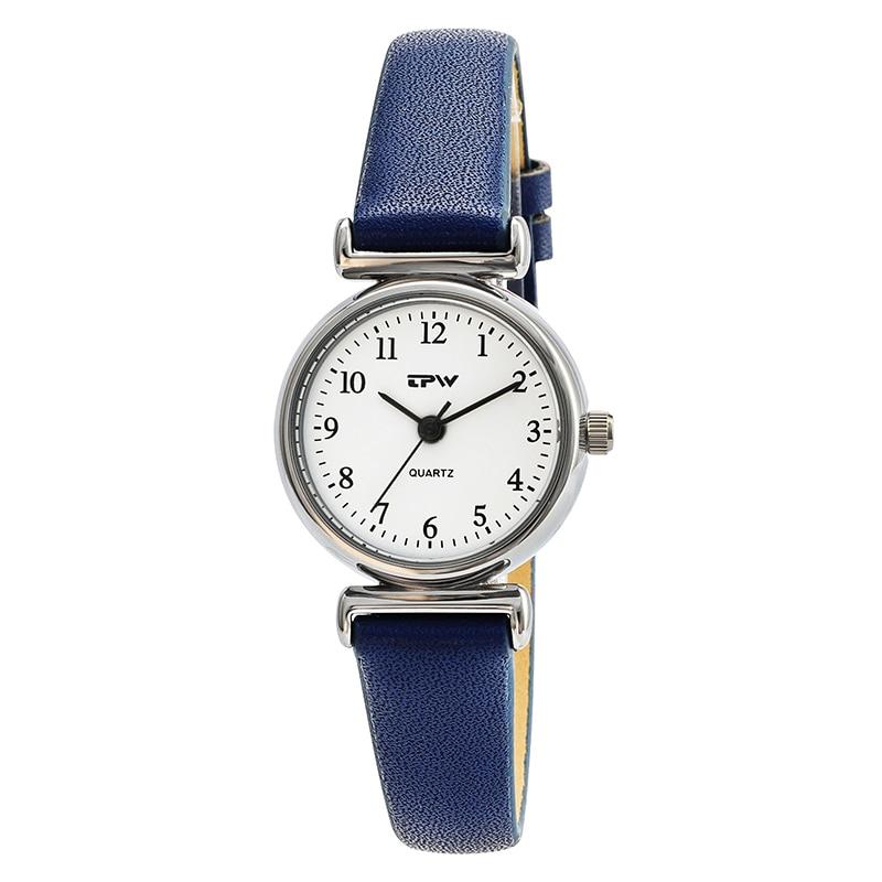 waterproof small simple women dress watches retro leather female clock Top brand women's fashion mini design wristwatches clock