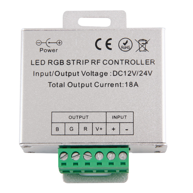 RF Panel Sentuh Wireless Remote Controller Untuk RGB Led Jalur Cahaya DC 12 V/24 V Dimmer Dropshipping