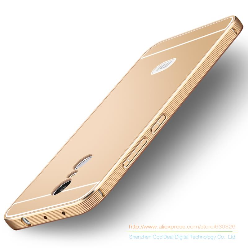 For Xiaomi Redmi Note 3 / Redmi Note 4 Metal Cases Brushed PC Back Cover& Aluminum Frame For Hongmi Note3 / Note4 Phone Case