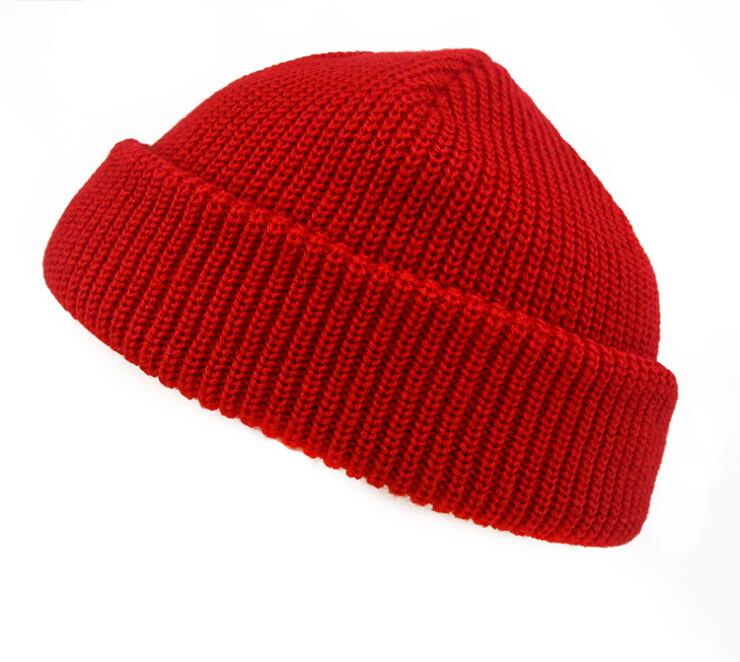 Autumn and winter Men and women fashion knited keep warm Hat caps   Skullies   &   Beanies   060