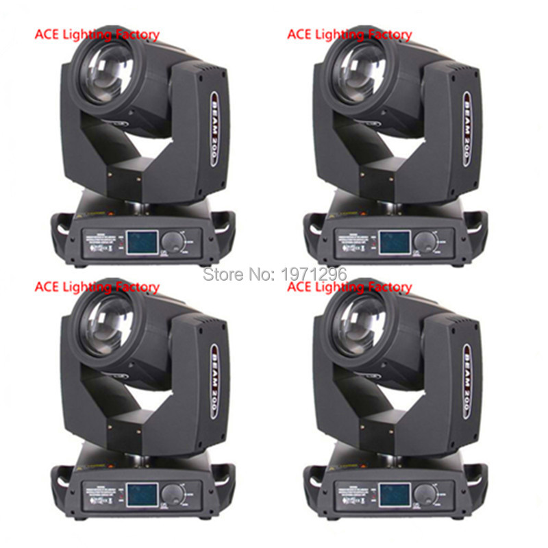 4 pieces Promotional Packaging Touch Screen 200W 5R Sharpy High Bright Beam 200 Moving Head Light led uplight cheap auto wheels стоимость