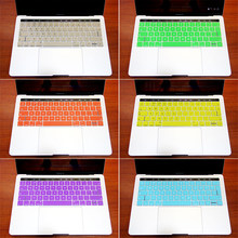 Silicone eu/uk bàn phím bao gồm da cho 2016 new macbook pro 13 '' 15 '' Retina A1706 A17067 với Touch Bar & ID Stickers Protector(China)