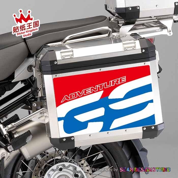 Für BMW Motorrad F750GS F800GS F850GS R1150GS R1200GS R1250GS ADV Motorrad Seite Fall Set Aufkleber Aufkleber Wasserdicht M 22