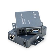 VGA extender, receiver 300M range, single-wire signal amplifier, VGA - RJ45 video extender vga extender 1 is divided into 8 the transmitter 8 port signal amplifier vga rj45 video extender