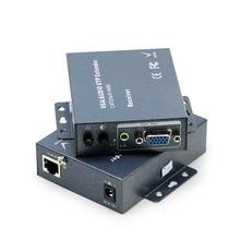 VGA extender, receiver 300M range, single-wire signal amplifier, - RJ45 video extender
