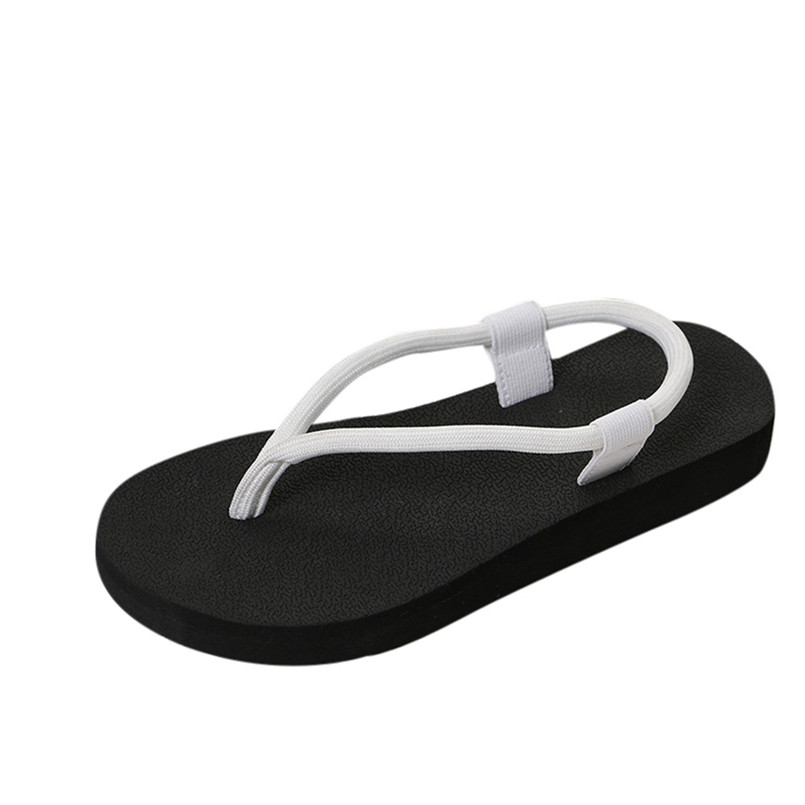 New Summer Women Solid Sandals Slipper Lady Pinch Slipsole Flat Shoes Flip Flops Sandals Slipper for women 2018 buty damskie T цена