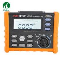 PM2302 заземления тестер сопротивления ЖК-дисплей 100 групп данных диагностический инструмент 200 в цифровой мегомметр Измеритель сопротивления изоляции