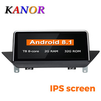 KANOR PX6 Six Core Android 8.1 Car GPS Navigation for BMW X1 E84 2009 2010 2012 2013 2014 2015 With Wifi dvd multimedia