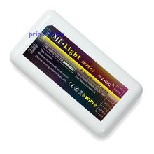 Mi-light 2.4G RF Wireless 12A Wifi Compatible 4-Zone Brigtness Adjustable Dimmer Controller for Single Color LED Strip light