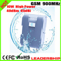 Ship/Tunnel/Farm/Village/Desert U GSM 900mhz 10Watts 40dbm 85dbi cellular phone signal repeater booster amplifier detector
