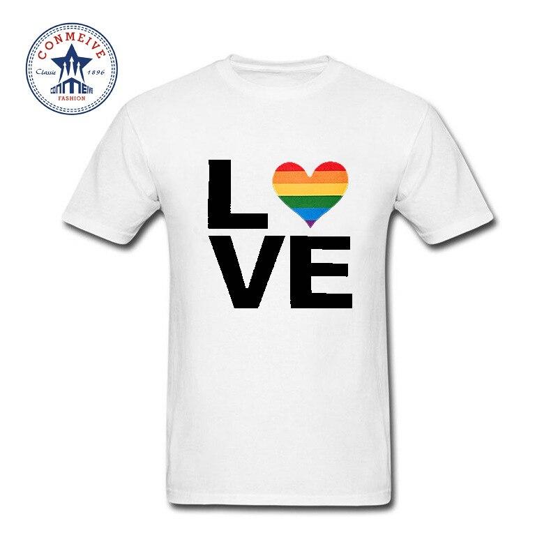2017 New Summer Funny Tee Gay & Lesbian LGBT Funny T Shirt for men
