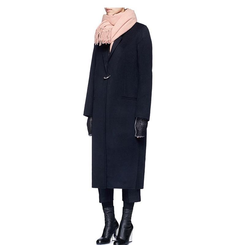 Long Style Coréenne Lâche Laine Femmes Nouveau Chaud Vintage Hiver Manteau Mode Plus De Manteaux 2018 q4PIvTwxz8