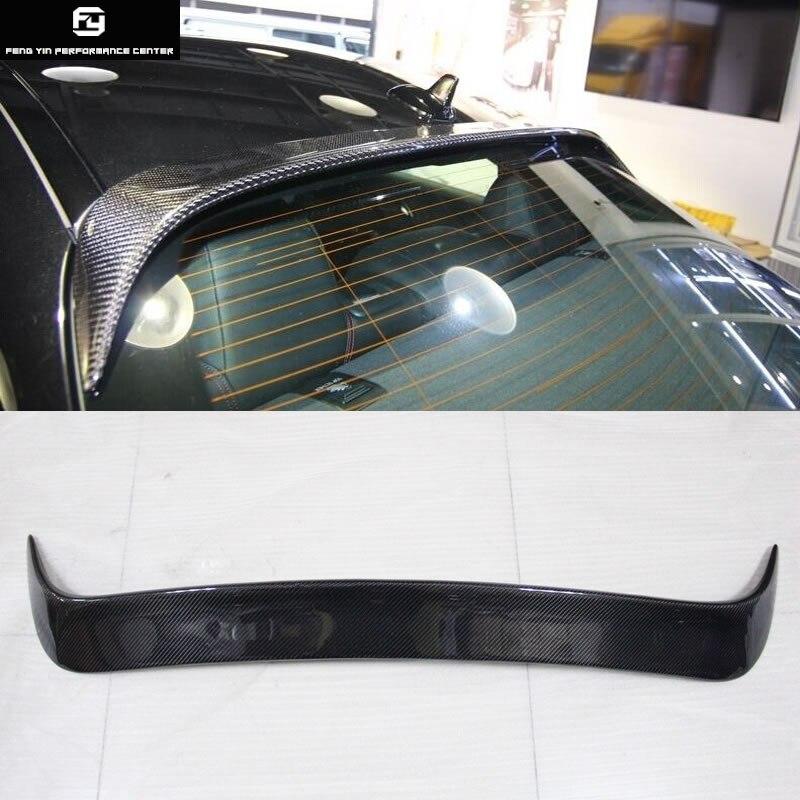 W117 CLA250 aileron de toit arrière en Fiber de carbone pour Mercedes Benz W117 CLA250 13-15