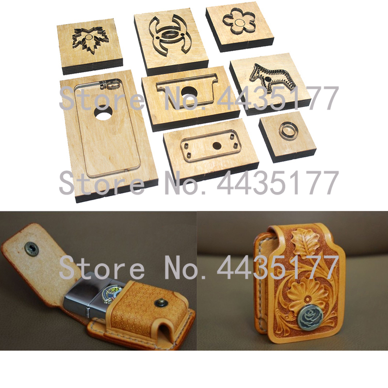 Japan Steel Blade Rule Die Cut Steel Punch  Cutting Mold Wood Dies for Leather Cutter for Leather CraftsJapan Steel Blade Rule Die Cut Steel Punch  Cutting Mold Wood Dies for Leather Cutter for Leather Crafts