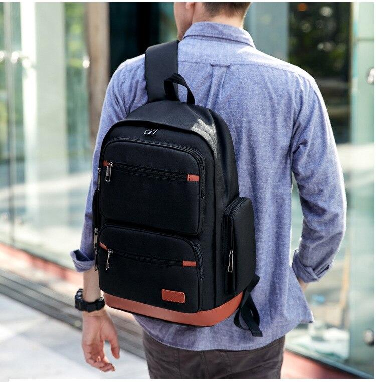 mochila casual saco de viagem do estudante
