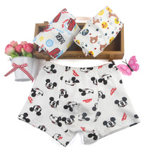3pcs/Lot Children Girls Cartoon Mickey Cute boys boy Underwear Kids Cozy Cotton Underpants Infant Baby Girl Panties Boxer Briefs